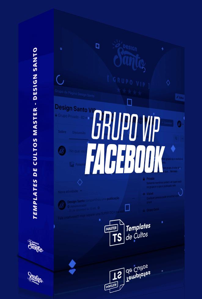 Templates de Cultos Master - Bônus Grupo Vip Facebook - Design Santo