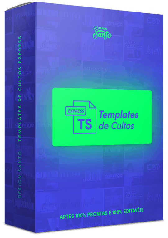 Design Santo - Templates de Cultos Express Box