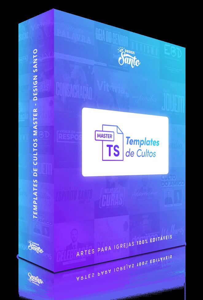 Templates de Cultos Master Box 1- Design Santo